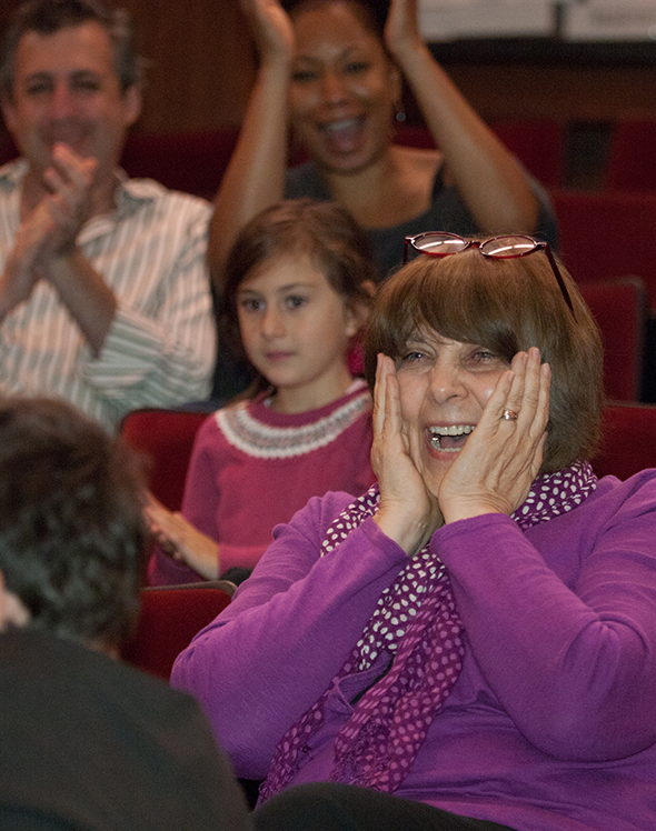 Marnie Greenwald Notification First-grade teacher Marnie Greenwald, at Temple Emanuel Academy Day School, Beverly Hills, is overjoyed by news of her $15,000 Jewish Educator Award, presented by the Milken Family Foundation in partnership with the BJE.