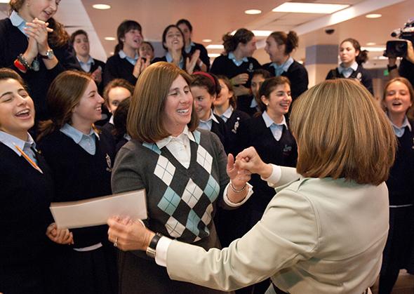 2011 Jewish Educator Awards Juli Shanblatt Notification Los Angeles California