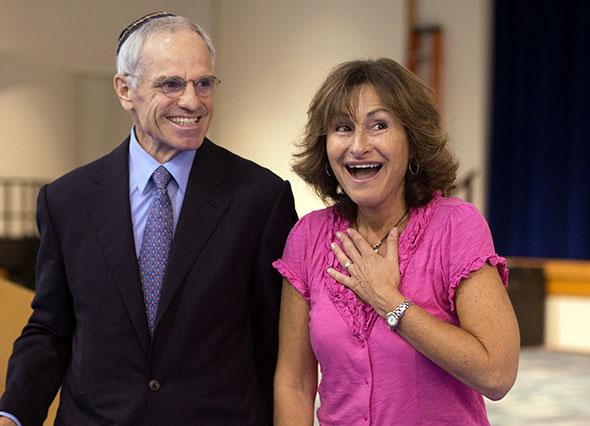2012 Jewish Educator Awards Lidia Turner Notification Los Angeles CA