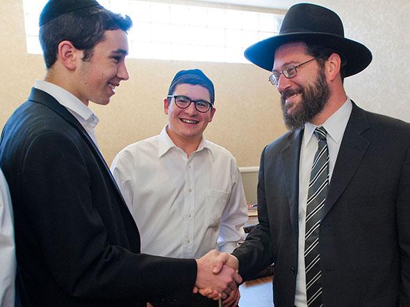 2012 Jewish Educator Awards Rabbi Usher Klein Notification Los Angeles CA