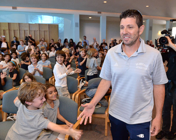 2014 Jewish Educator Awards Barry Schapira Notification Los Angeles California