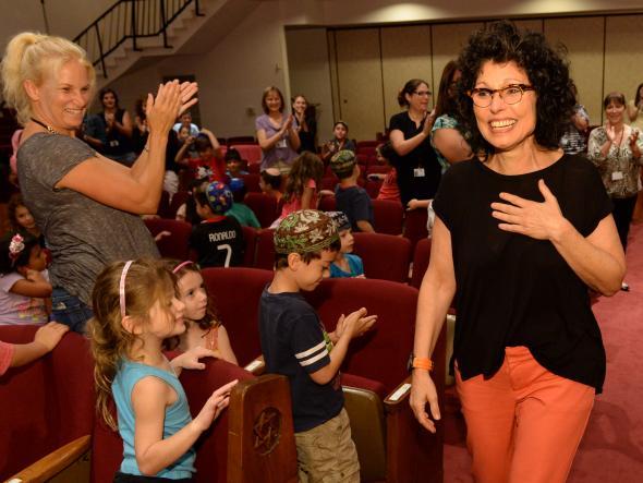 2015 Jewish Educator Awards Hanna Keynan Notification Los Angeles California