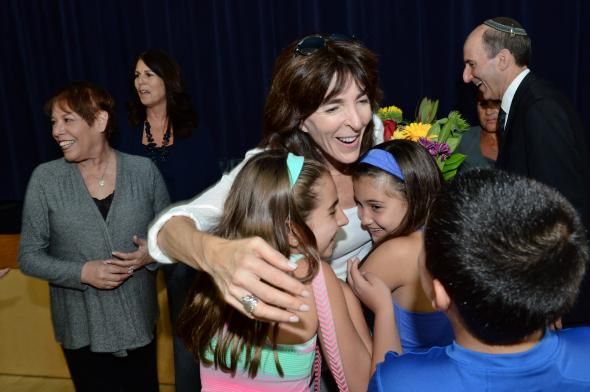 2015 Jewish Educator Awards Jamie Gomer Notification Los Angeles California