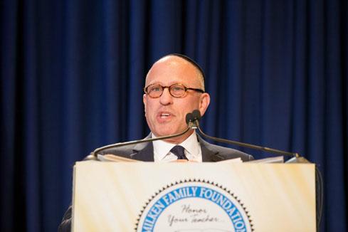 28th Awards Luncheon Rabbi Steven Z. Leder of Wilshire Boulevard Temple
