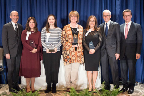 28th Awards Luncheon 2017 Jewish Educator Award recipients
