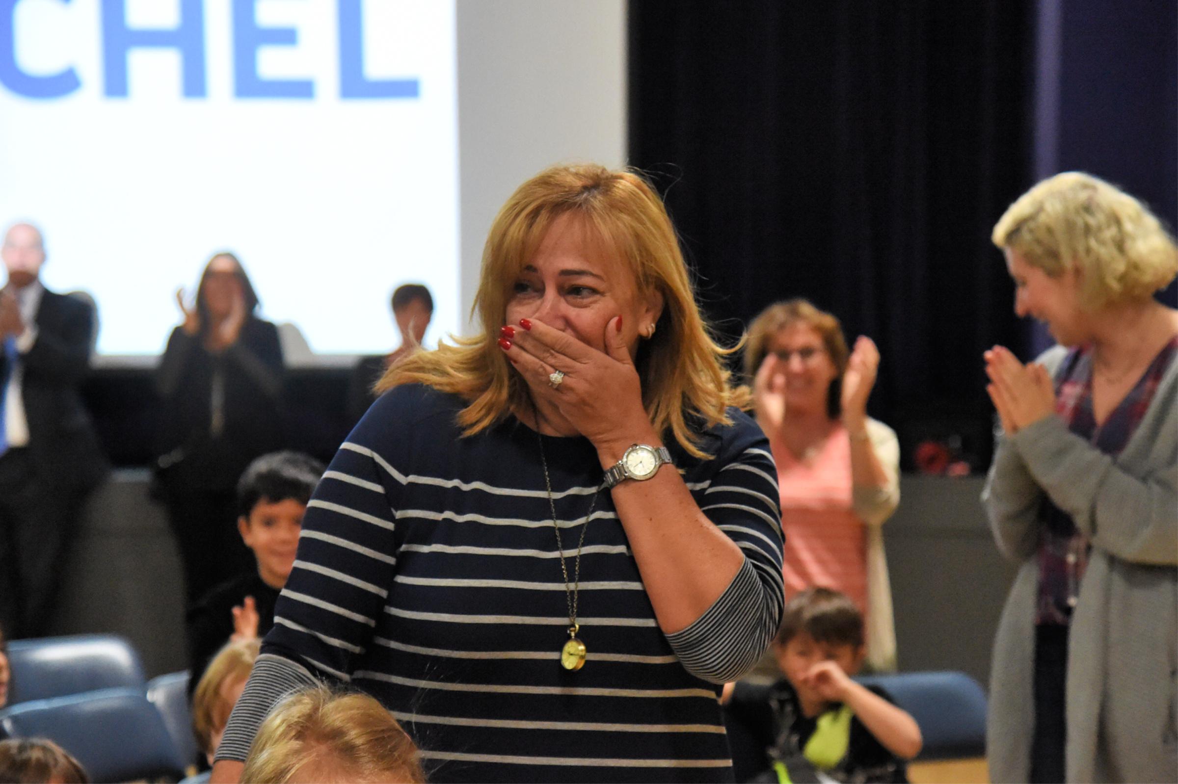 Fanny Koyman Notification Fanny Koyman, Heschel's lead Hebrew and Judaic studies teacher for transitional kindergarten and kindergarten, is shocked to hear the news: She is the recipient of a 2018 Jewish Educator Award!