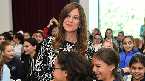 Jewish Educator Awards Michelle Andron Notification